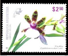 3180  Orchidées - Orchids - Argentine 2011 - MNH - 1,25 - Orchidées