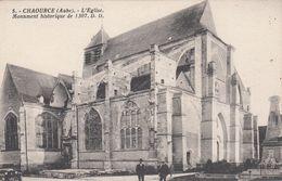 Cp , 10 , CHAOURCE , L'Église, Monument Historique De 1307 - Chaource