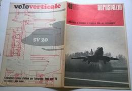 AEROSPAZIO N. 49 26/10/68 CONVEGNI A NAPOLI E VENEZIA PER GLI AEROPORTI - Books, Magazines, Comics