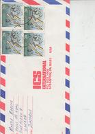 ZIMBABWE  1991 - Lettera Per U.S.A. - Zimbabwe (1980-...)