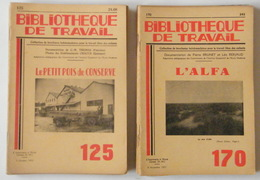 Lot De 19 Revues - Bibliothèque De Travail - Nature - 1948 à 1971 - 23 X 15,5 Cm - Boeken, Tijdschriften, Stripverhalen