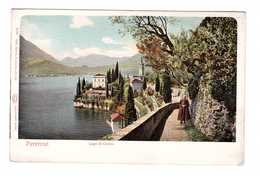 Italie Varenna Lecco Lago Di Como Lac De Come Cpa Carte Animée - Italia