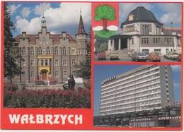 WALBRZYCH, Poland, Multi View, Used Postcard [21260] - Poland