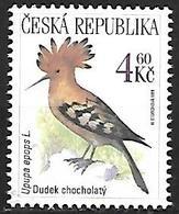 Czech Rep. 1999 MNH - Eurasian Hoopoe (Upupa Epops) - Marine Web-footed Birds