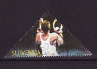 Slovénie - Slovenia - Slowenien 2004 Y&T N°421 - Michel N°465 (o) - D Gymnaste Aux Anneaux - Slowenien