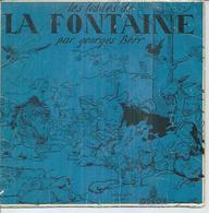 """45 Tours EP - GEORGES BERR  - ODEON 2074   """" LA CIGALE ET LA FOURMI"""" + 3 ( Pochette BENJAMIN RABIER ) - Other - French Music"""
