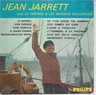 """45 Tours EP - JEAN JARETT & LA FANFARE & LES MARGATS BOULONNAIS  - PHILIPS 424282   """" O GUENEL """" + 10 - Other - French Music"""