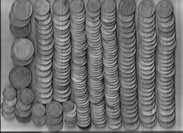 Lot Monnaies Argent Démonétisées - Coins & Banknotes