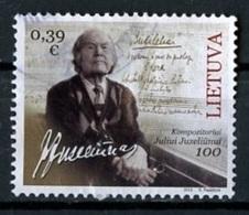 Lituanie - Lithuania - Litauen 2016 Y&T N°1060 - Michel N°1213 (o) - 0,39€ J Juzeliunus - Litauen
