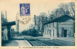 VILLEPARISIS MITRY MORY LA GARE AVEC LE TRAIN - Villeparisis