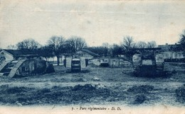 PARC REGIMENTAIRE - War 1914-18