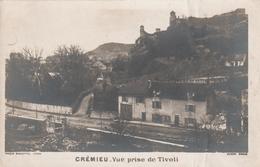 Carte Postale Ancienne De L'Isère - Crémieu - Vue Prise De Tivoli - Vers 1900 - Crémieu