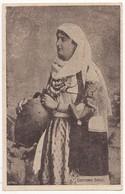 GREECE, WOMAN IN ETHNIC DRESS COSTUME, C1910s Vintage Postcard - Greece