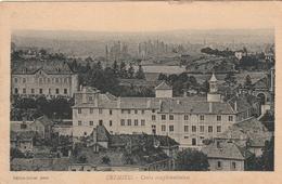 Carte Postale Ancienne De L'Isère - Crémieu - Cours Complémentaires - Crémieu