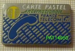 FRANCE TELECOM CARTE PASTEL INTERNATIONALE En Qualité ARTHUS Bord Métallisé - France Telecom