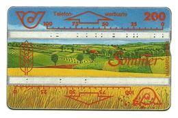 Austria - Tessera Telefonica Da 200 Units T497 - Jahreszeiten