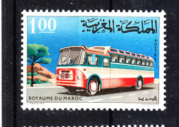 Marocco    -   1966. Bus.  MNH, Fresh - Bus