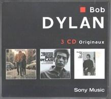 COFFRET 3 CD'S BOB DYLAN TRES BON ETAT 2002 SONY MUSIC TRES RARE - Rock