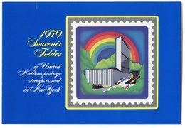 RC 9003 NATIONS UNIES 1979 SOUVENIR FOLDER NEUF ** - New-York - Siège De L'ONU