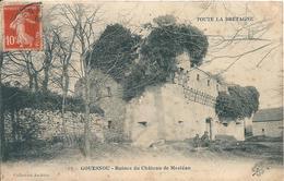 Finistère - GOUESNOU 29 - Ruines Du Château De Mesléan. - France