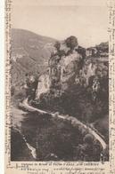 Carte Postale Ancienne De L'Isère - Château De Brotel Et Vallée D'Amby, Près Crémieu - Crémieu