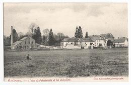 Bastogne Usine De L'électricité Et Les Récollets Carte Postale Ancienne Vue Générale - Bastogne