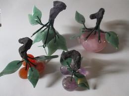 Frutta In Vetro, Quarzo E Legno - Glass & Crystal