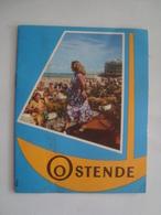 OOSTENDE - BELGIUM, BELGIQUE, OSTEND, OSTENDE, 1955 APROX. - Tourism Brochures
