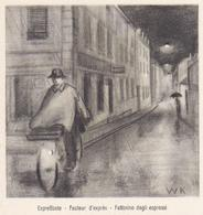 BICYCLE Switzerland 1949 Mi Pws Expresse On Bicycle BERN - Cancel 100-year Post Enlarged.............................746 - Switzerland