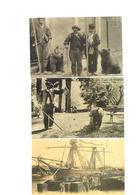 Carte Postale Scènes Des Pyrénées Cette (64) Repro 3 Cartes Montreurs D'ours Débarquement D'un Voilier 1,50euro Les 3 - Non Classés
