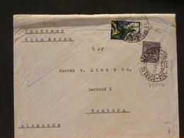77/114  LETTRE POUR ALLEMAGNE IMPRESOS  1935 VIA AIR FRANCE - Brésil