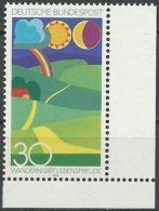 DEUTSCHLAND 1974 Mi-Nr. 808 Eckrand ** MNH - BRD