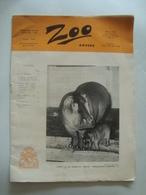 ZOO ANVERS (JANVIER 1955) - BELGIUM, BELGIQUE, ANTWERP, 1955 APROX. 92 PAGES. - Toeristische Brochures