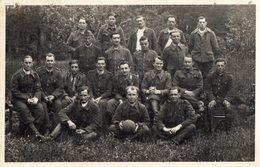 CPA 2198 - MILITARIA - Carte Photo Militaire - Football - Prisonniers De Guerre Stalag VI. G Allemagne Pour ANTONY - Personnages