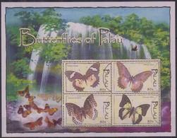 Palau 2004 Yvertn° 2092-2095  *** MNH Cote 12 Euro Faune Papillons Vlinders Butterflies - Palau