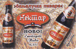 Serbia 350 Units, Chip, Beer Nektar - Pivo - Yougoslavie