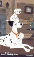 Télécarte Japon * 110-190038 * THE DISNEY STORE * 101 DALMATIENS (6340) CHIEN * DOG * Japan Phonecard TK * TIRAGE 6.000 - Disney