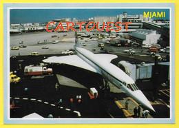 AIRPORT/ AEROPORT/ MIAMI INTERNATIONAL (  Concord Transatlantic Super Sonic ) - Aérodromes