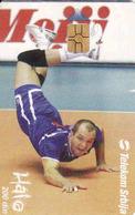 Serbia Telekom, Chip, Volleyball Vasa Mijič Club Tours France, Tirage 30 000 - Yougoslavie