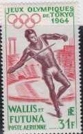 1964 Walis & Futuna Is. - Olympische Sommerschpille 1964, Tokyo / Olympic Games In Tokyo - 1 V Paper MNH** Mi 205 - Wallis Und Futuna