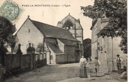 23 FAUX-la-MONTAGNE  L'Eglise - Andere Gemeenten