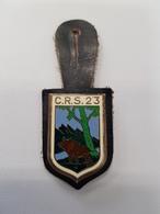 Insigne Compagnie De CRS N°23 Deuxième Model - Polizei