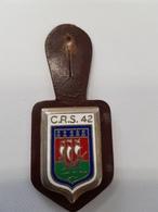Insigne Compagnie De CRS N°42 - Police & Gendarmerie