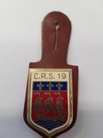 Insigne Compagnie De CRS N°19 - Police & Gendarmerie