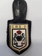 Insigne Compagnie De CRS N°9 - Police & Gendarmerie