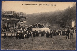 29 ERGUE-GABERIC Papeterie De L'Odet, Fête Du Centenaire 1822-1922 ; Manège - Animée - Ergué-Gabéric