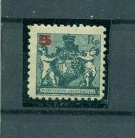 Liechtenstein. Landeswappen Mit Putten, Nr. 61 A Falz * - Ungebraucht
