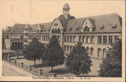 CPA Grevenmacher Sur Moselle L'école Die Schule Luxembourg CAD Grevenmacher 13 9 38 - Cartes Postales