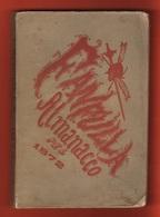 Lunario Almanacco Del Fanfulla  1872  Da Lire 1  Libro - Books, Magazines, Comics