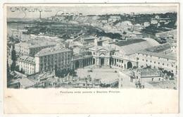 Un Saluto Da GENOVA - Panorama Verso Ponente E Stazione Principe - Genova